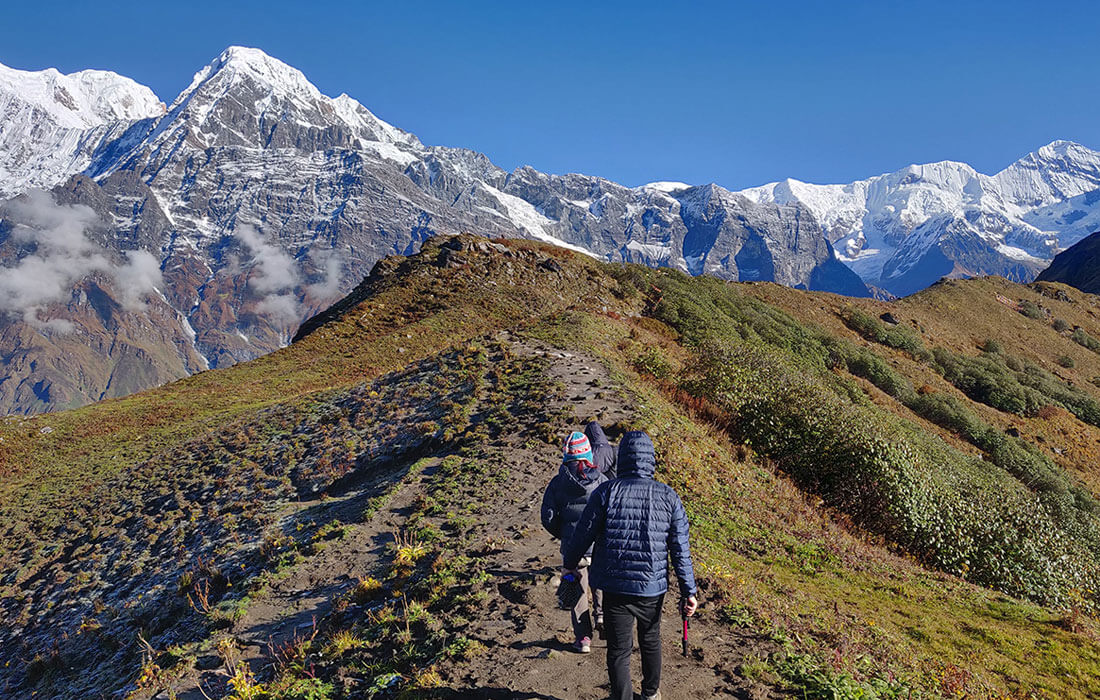 Mardi Himal and Annapurna Himalaya