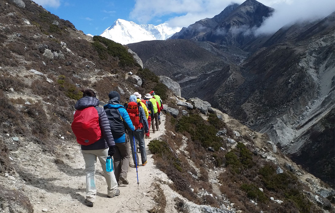 Gokyo Lake Treks in Winter