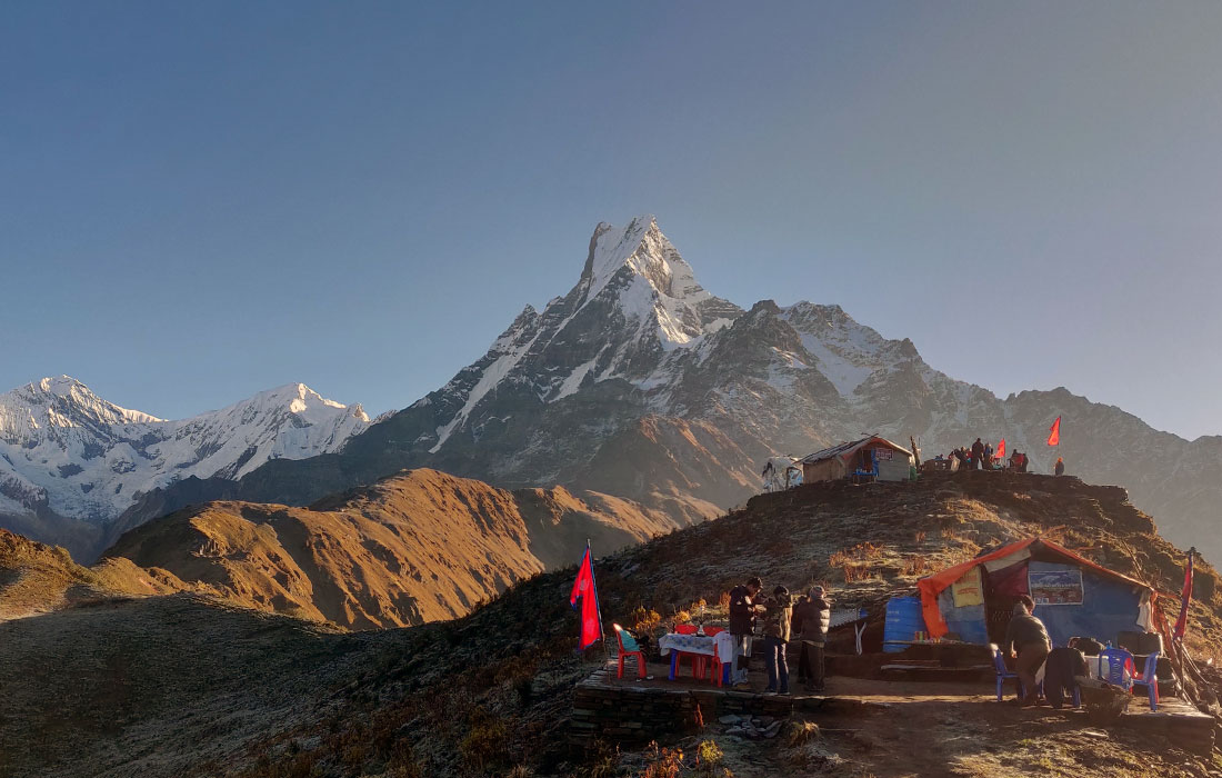 Mardi Himal Treks in Winter