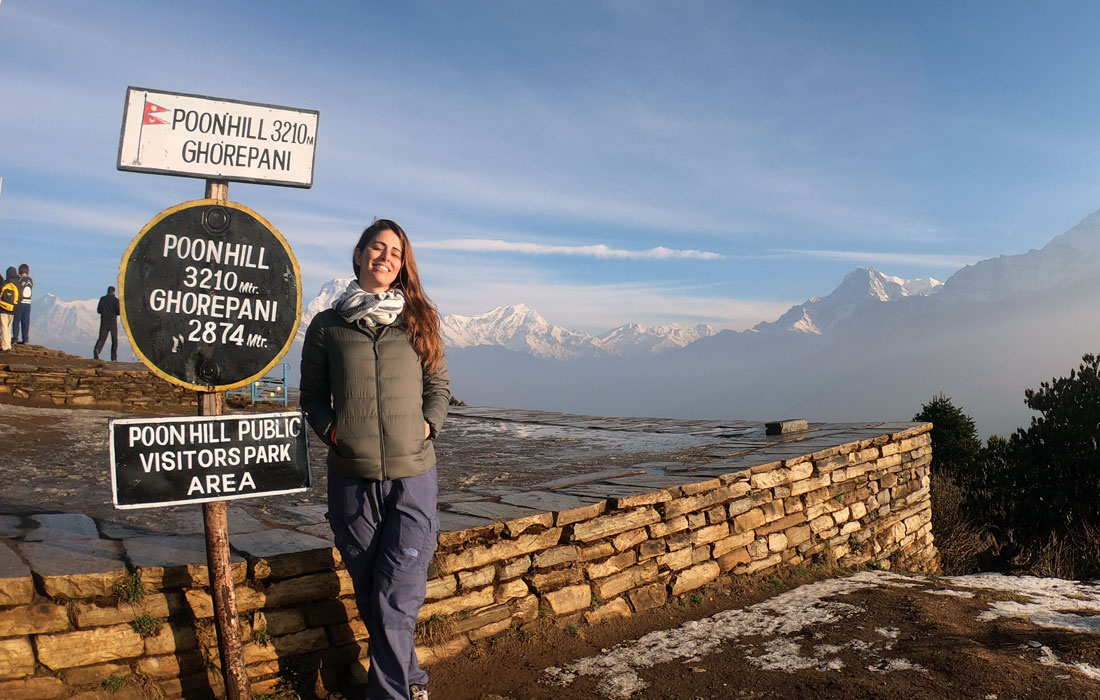 Poon Hill Treks in Winter